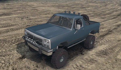 Dodge Ramcharger Open Top для Spin Tires