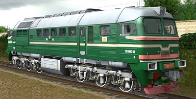 М62-1731 тепловоз для Train Simulator 2015