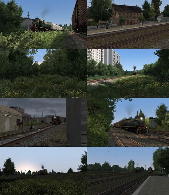 Скачать Русский Маршрут для Trainz 2012 - картинка 1