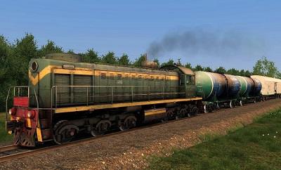 ТЭМ2 пак тепловоз для Train Simulator 2015