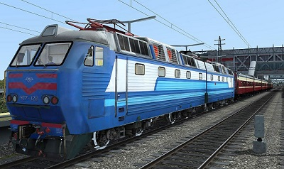 ЧС7-128 электровоз для Train Simulator 2015