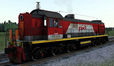 ТЭМ2-5125 РЖД для Train Simulator 2015