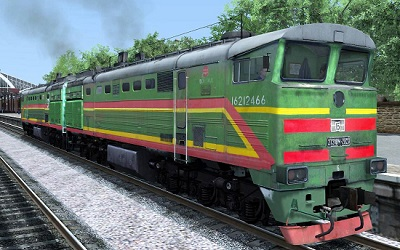 2ТЭ10М 3623 тепловоз для Train Simulator 2015