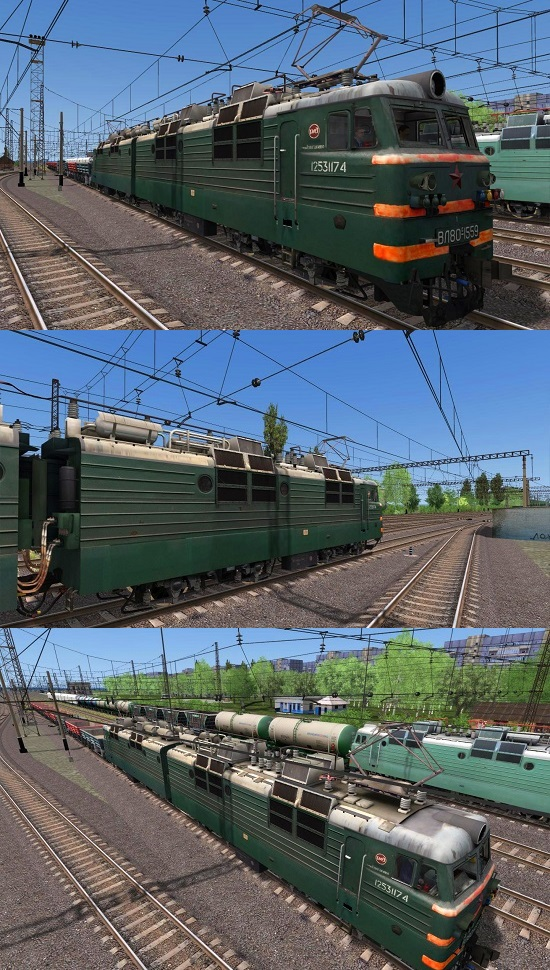ВЛ80с-1559 электровоз для Train Simulator 2015