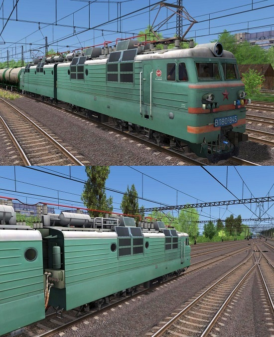 ВЛ80с-845 электровоз для Train Simulator 2015
