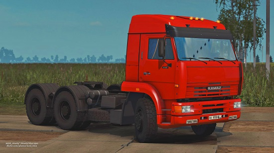 скачать мод камаз 65221 для euro truck simulator 2
