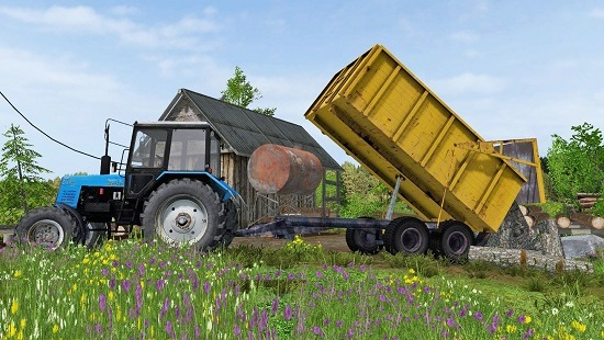 ПТС-10 для Farming Simulator 2015