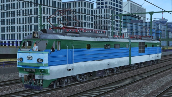 ВЛ10к-799 v3 для Train Simulator 2016