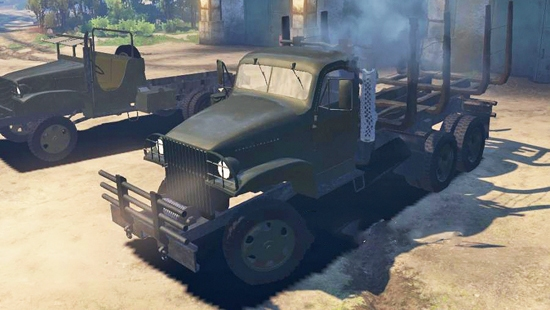GMC Deuce and a Half 1943 для Spin Tires 03.03.16