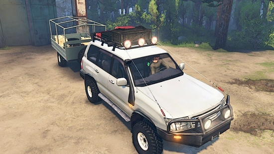 Toyota Land Cruiser 105 для Spin Tires 03.03.16