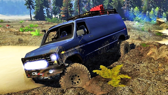 Ford E350 4x4 90 для Spin Tires 03.03.16