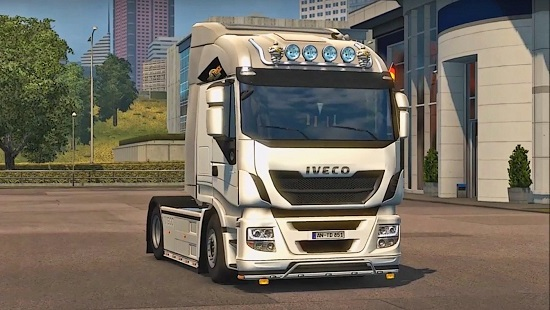Iveco Hi Way Hi Road by Rebel8520 для Euro Truck Simulator 2 1.24