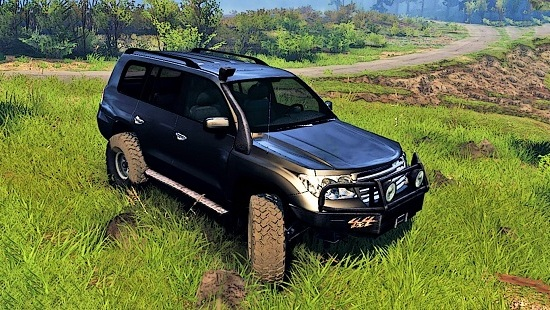 Toyota Land Cruiser 200 для Spin Tires 03.03.16