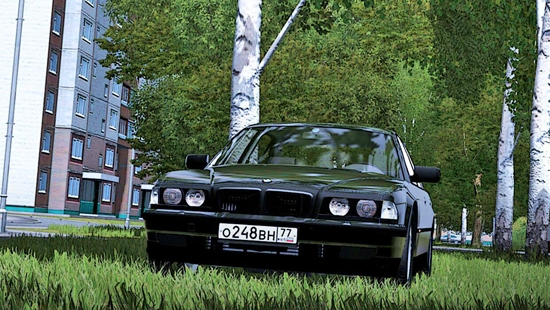 BMW 750i Бумер для City Car Driving 1.5.1