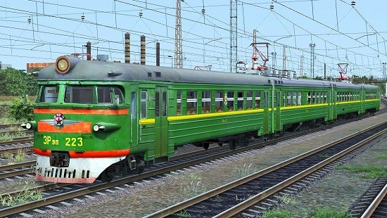 ЭР9п-223 v3 для Train Simulator 2016