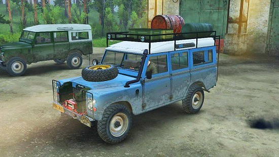 Land Rover series III для Spin Tires 03.03.16