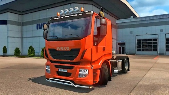 Iveco Reworked by Rebel8520 для Euro Truck Simulator 2 1.24