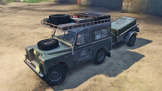 Land Rover для Spin Tires 03.03.16