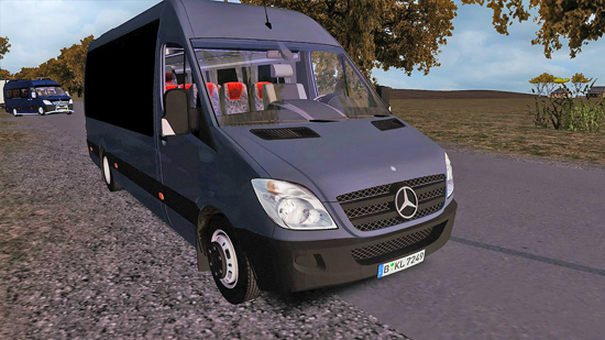 Mercedes Benz 515 BIG Windows для OMSI 2