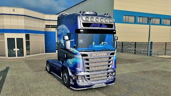Scania Streamline R730 ETS 2 1.24