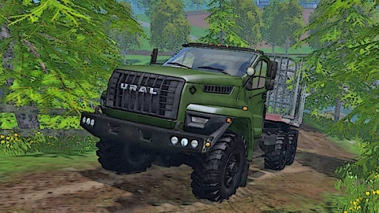 УРАЛ Next 4320-6912-74 v2.0 для Farming Simulator 2015
