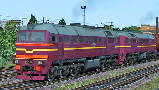 2M62y-0925 LDZ для Train Simulator 2016