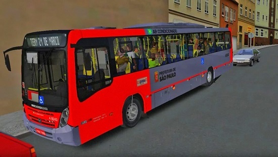 Neobus Mega 2006 Mercedes-Benz OF 1724 BT5 для OMSI 2