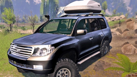 Toyota Land Cruiser 200 2008 v06.07.16 для Spin Tires 03.03.16