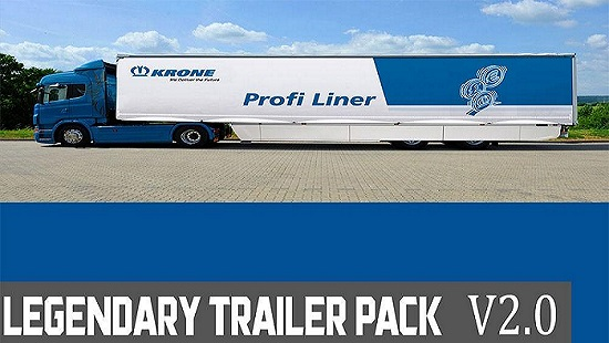 Legendary Trailer Pack V2.0 для ETS 2 1.25