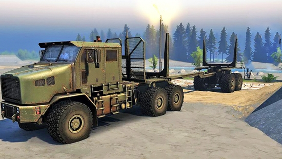 Oshkosh Het M1070 Global v28.09.16 для Spin Tires 03.03.16