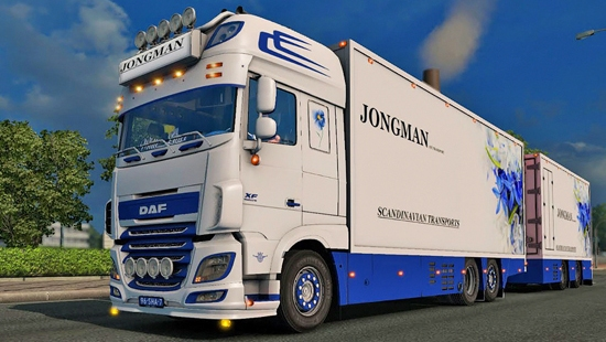 DAF Flower Shuttle для ETS 2 1.25