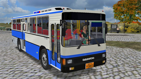 DAEWOO BS BUS MEGA PACK 1.3.0 для OMSI2