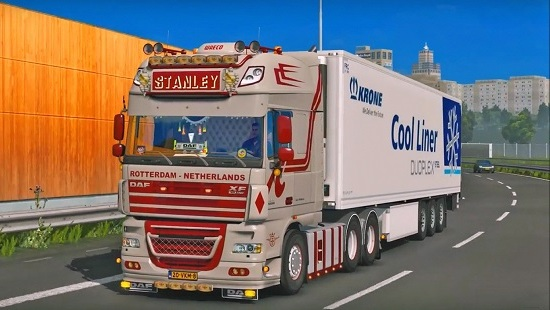 DAF XF 105 by Stanley для ETS 2 1.25