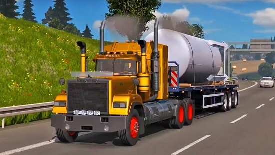 Mack Superliner v1.0 для ETS 2 1.26