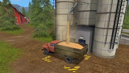 Газ 53 v1.0 для Farming Simulator 17