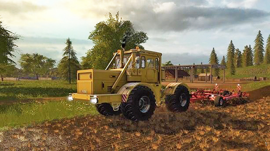 Кировец К-700А v1.0 для Farming Simulator 2017