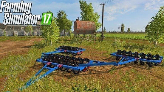 ККШ-6 для Farming Simulator 2017