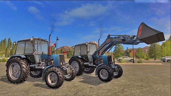 МТЗ 1025 v1.1 для Farming Simulator 2017