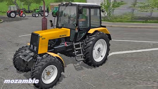 МТЗ 1025 v 1.4.0.0 для Farming Simulator 2017