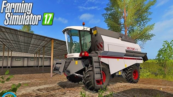 Вектор 410 v1.0 для Farming Simulator 2017