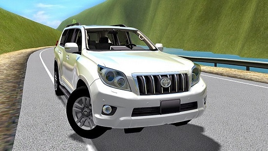 Toyota Land Cruiser Prado 150 для City Car Driving 1.5.1-1.5.2