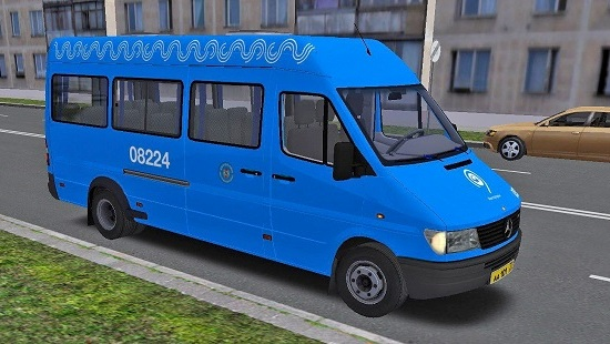 Московская перекраска Автолайн для Mercedes Benz Sprinter (312D-412D) OMSI 2