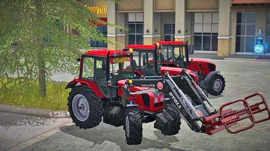 МТЗ 1220 v2.0 для Farming Simulator 2017