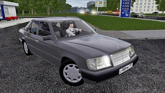 Mercedes-Benz E320 для City Car Driving 1.5.1-1.5.2