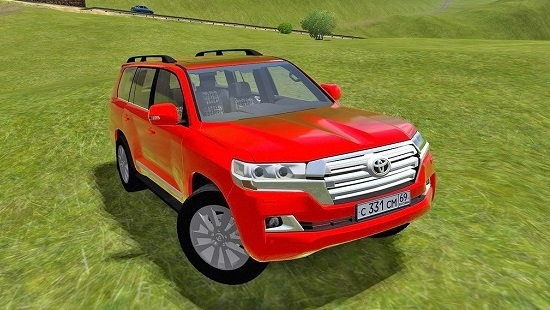 Toyota Land Cruiser 200 2016 для City Car Driving 1.5.1-1.5.3