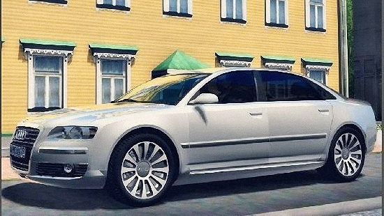 Audi A8 6.0 D3 Quattro для Сity Car Driving 1.5.1 и 1.5.2