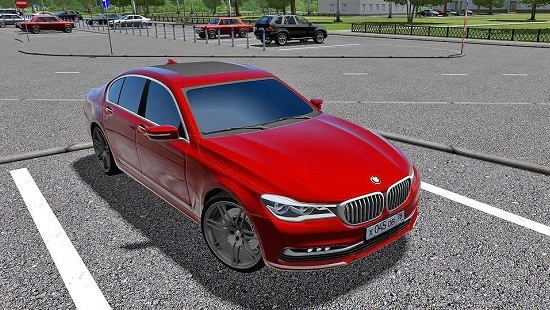 BMW 7-series 5.0i XDrive 2016 для City Car Driving 1.5.1 - 1.5.3