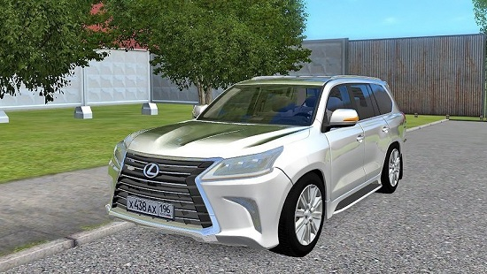 Lexus lx570 для City Car Driving