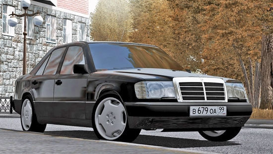 Mercedes-Benz 300E W124 1990 для City Car Driving 1.5.1-1.5.3