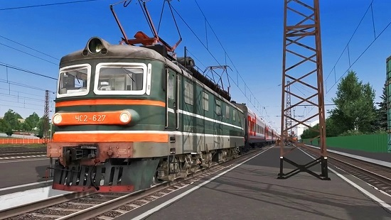ЧС2-627 альфа версия для Train Simulator 2017